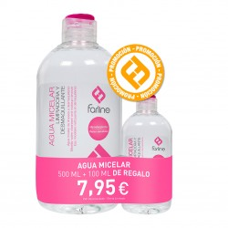 Comprar Pack Farline Agua Micelar 500+100 Ml