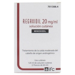 Comprar Regaxidil 20mg/ml 2 Frascos 60 ml