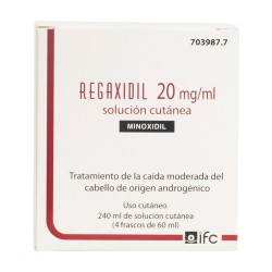 Comprar Regaxidil 20mg/ml 4 Frascos 60 ml