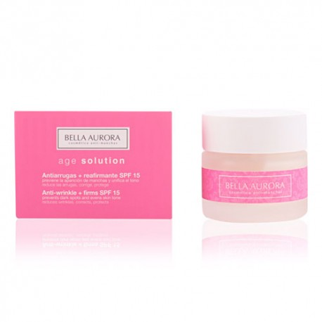 Bella Aurora Age Solution Antiarrugas + Reafirmante SPF 15 50ml