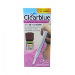 Varillas Clearblue Monitor Anticoncepción