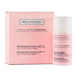 Bella Aurora Hydra Matte Solution Piel Mixta-Grasa 50ml.