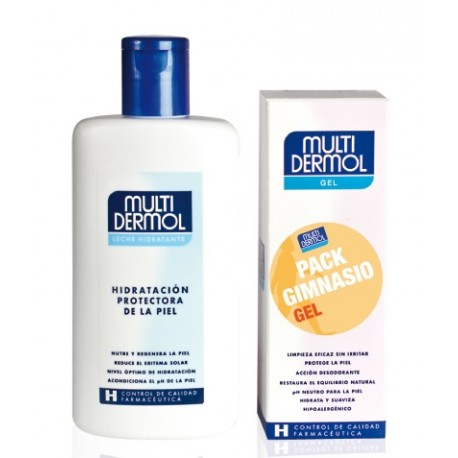 Multidermol Pack Gimnasio Leche Corporal 250ml + Gel 150ml