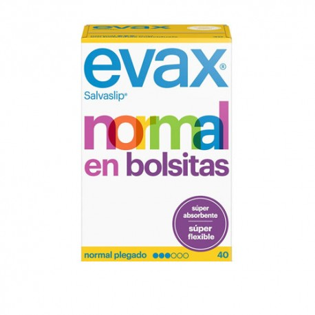 Evax Salvaslip Normal Super Flexible 40 Unidades