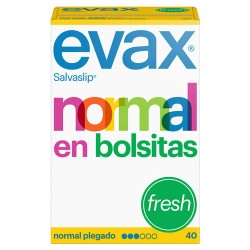 Comprar Evax Salvaslip Normal Fresh 40 Unidades