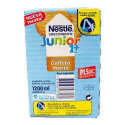 Comprar Pack Nestle Junior Crecimiento Batidos Galleta Maria 6x200ml