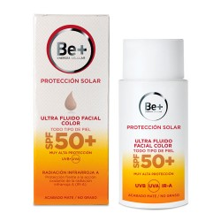 Comprar Be+ Ultra Fluido Facial con Color SPF50+ 50ml