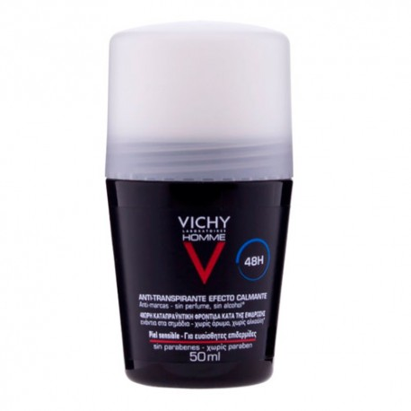 Vichy Homme Desodorante Roll-On Pieles Sensibles 50ml