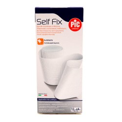 Pic Venda Elástica Autoajustable Self Fix 12Cmx4M