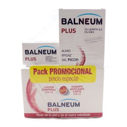 Balbeum Plus Pack Loción Corporal 500ml + Champú Anticaspa Forte 200ml