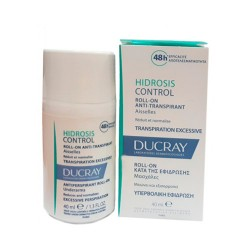 Ducray Hidrosis Control Roll-On Anti-Transpirante 40ml.