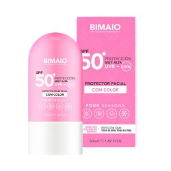 Comprar Bimaio Protector Antiedad Four Season SPF50 Con Color 50 ml