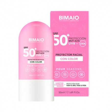 Bimaio Protector Antiedad Four Season Con Color 50 ml