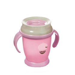 Lovi Taza 360º Retro Girl mini 210ml (+9m)