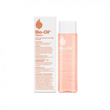 Bio Oil Aceite cicatrizante, antiestrías y antimanchas 200 ml