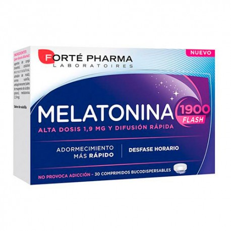 Forte Pharma Melatonina 1900 Flash 30 comprimidos