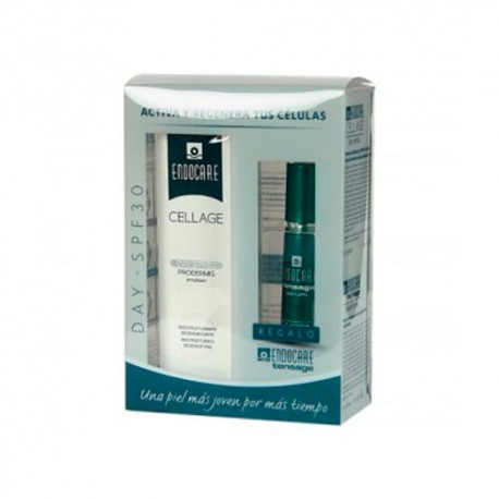 Endocare Pack Cell Day Spf30 + Contorno Cellage Ojos 15 ml.