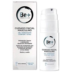 Be+ Gel Hidratante Confort Total Masculino 50 ml