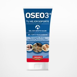 Oseo3+ Crema Efecto Calor 200ml