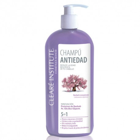 Clearé Institute Champú Antiedad 400ml