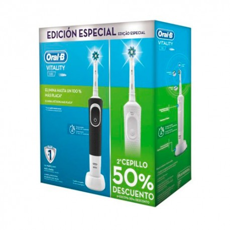 Oral B Cepillo Eléctrico Vitality Cross Action Pack 2 unidades