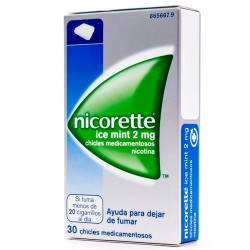 Comprar Nicorette Ice Mint 2mg 30 Chicles