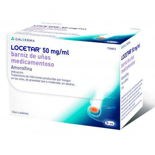 Locetar 50mg/ml Barniz Uñas Medicamentoso 5ml