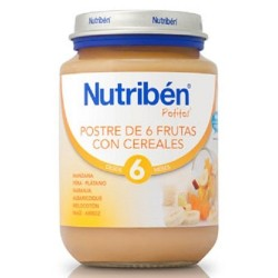 Nutriben Potito Junior Frutas Con Cereales 200gr