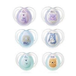 Comprar Tommee Tippee 2 Chupetes Night 0-6m