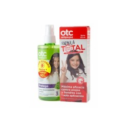 OTC Antipiojos Pack Spray Fórmula Total 125ml + Spray Desenredante 250ml