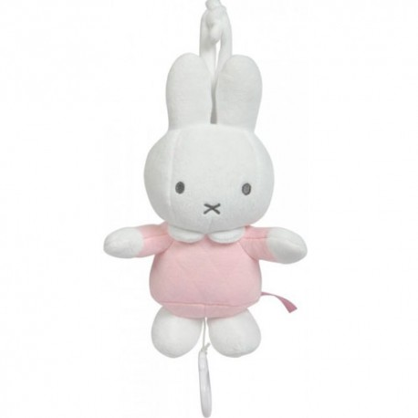 Olmitos Miffy Conejito Musical Safari Rosa.