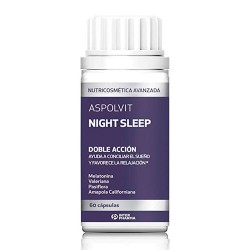 Comprar Aspolvit Night Sleep 60 Cápsulas