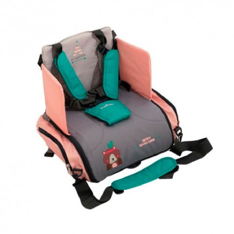 Olmitos Asiento Elevador con Bolsillos Happy Adventure
