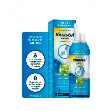 Rinastel Xilitol Spray Nasal 100ml.