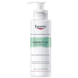 Eucerin Dermo Pure Gel Limpiador Facial 400ml