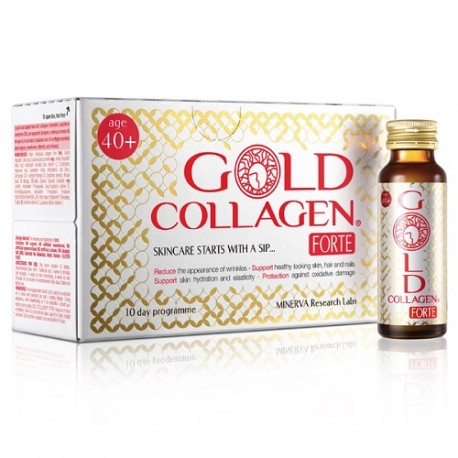 Gold Collagen Forte 10 Botellitas x 50ml