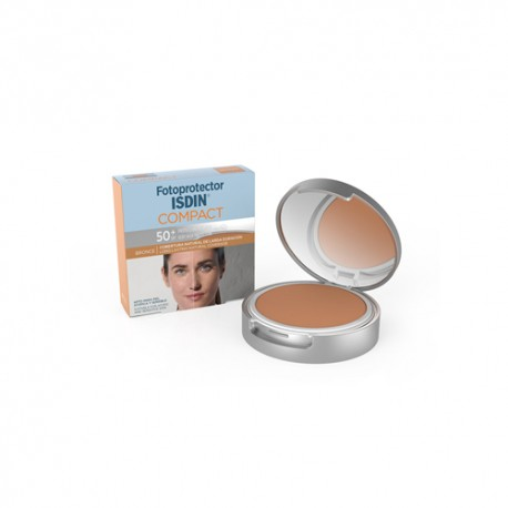 Isdin Fotoprotector Maquillaje Compact Bronce SPF50+ 10gr