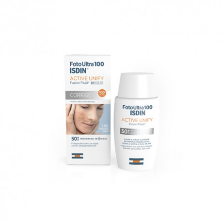 Isdin FotoUltra 100 Active Unify Fusion Fluid SPF100+ 50ml