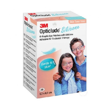 Parche Ocular Opticlude Silicona Grande 20 Unidades