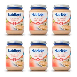 Nutriben Junior Pollo Con Verduras 6x200g