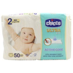 Comprar Chicco Ultra Soft Mini Talla-2 50 Unidades