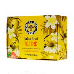 Black Bee Jalea Real Kids 20 Ampollas
