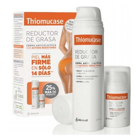 Thiomucase Reductor de Grasa pack 200ml + 50ml Regalo
