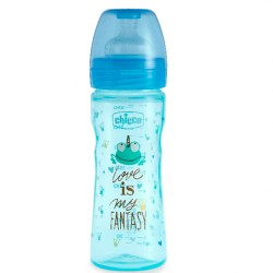 Chicco Biberón WB Silicona Fantastic Love 250 ml