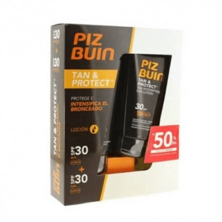 Piz Buin Pack Loción Tan&Protect SPF30 2ud