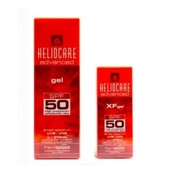 Comprar Heliocare Advanced XF Gel SPF 50 50ml + Gel SPF 50 200ml