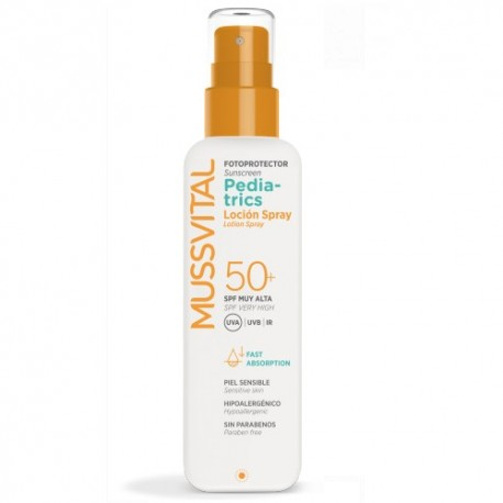 Mussvital Fotoprotector Pediatrics Loción Spray SPF 50+  200ml
