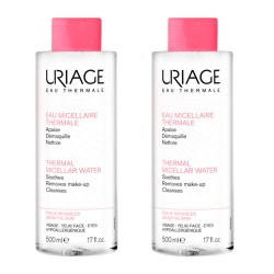 Uriage Agua Micelar Pieles Sensible 2x500ml