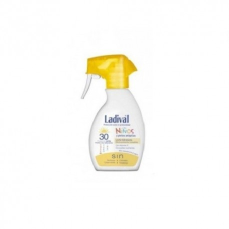 LADIVAL NI�OS FPS30 SPRAY LECHE 200ML