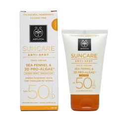 Comprar Apivita Suncare Crema Facial Antimanchas Color SPF 50 50ml
